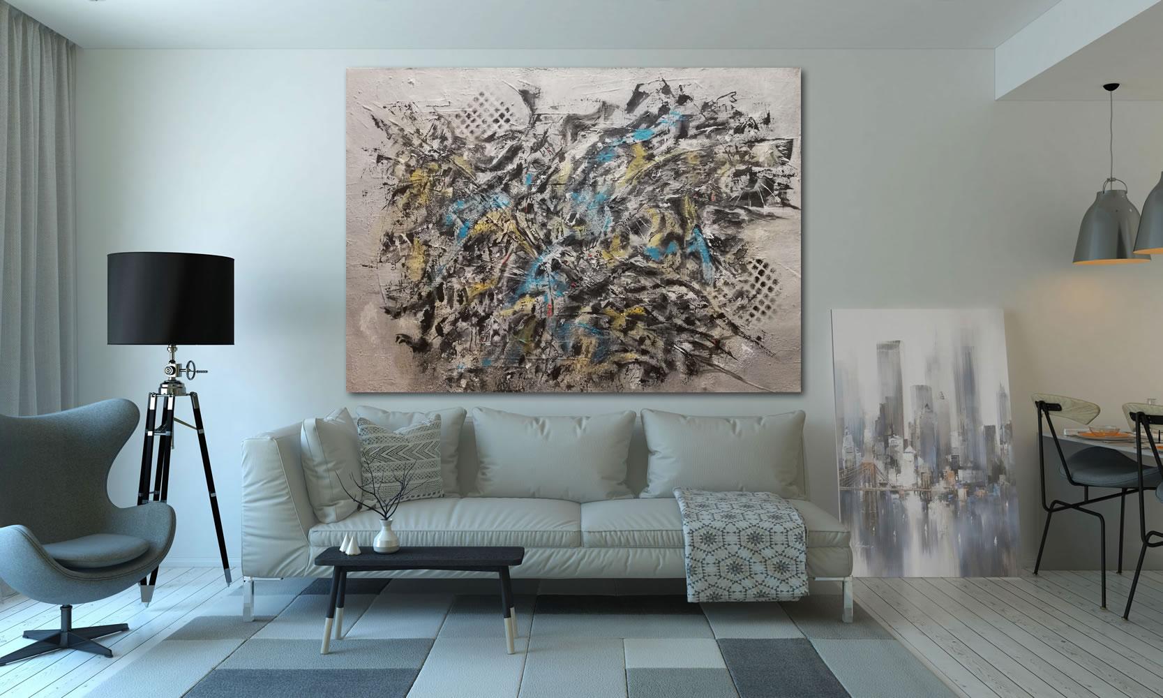 Acryl on canvas / Acrilico sobre tela (50cm x 70cm)